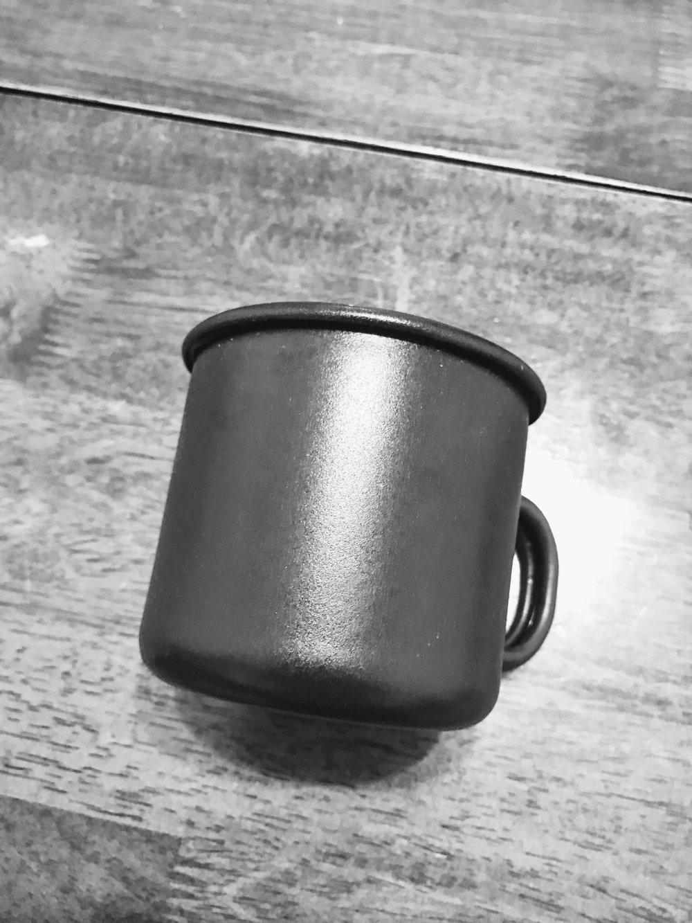 Matte Enamel Mug