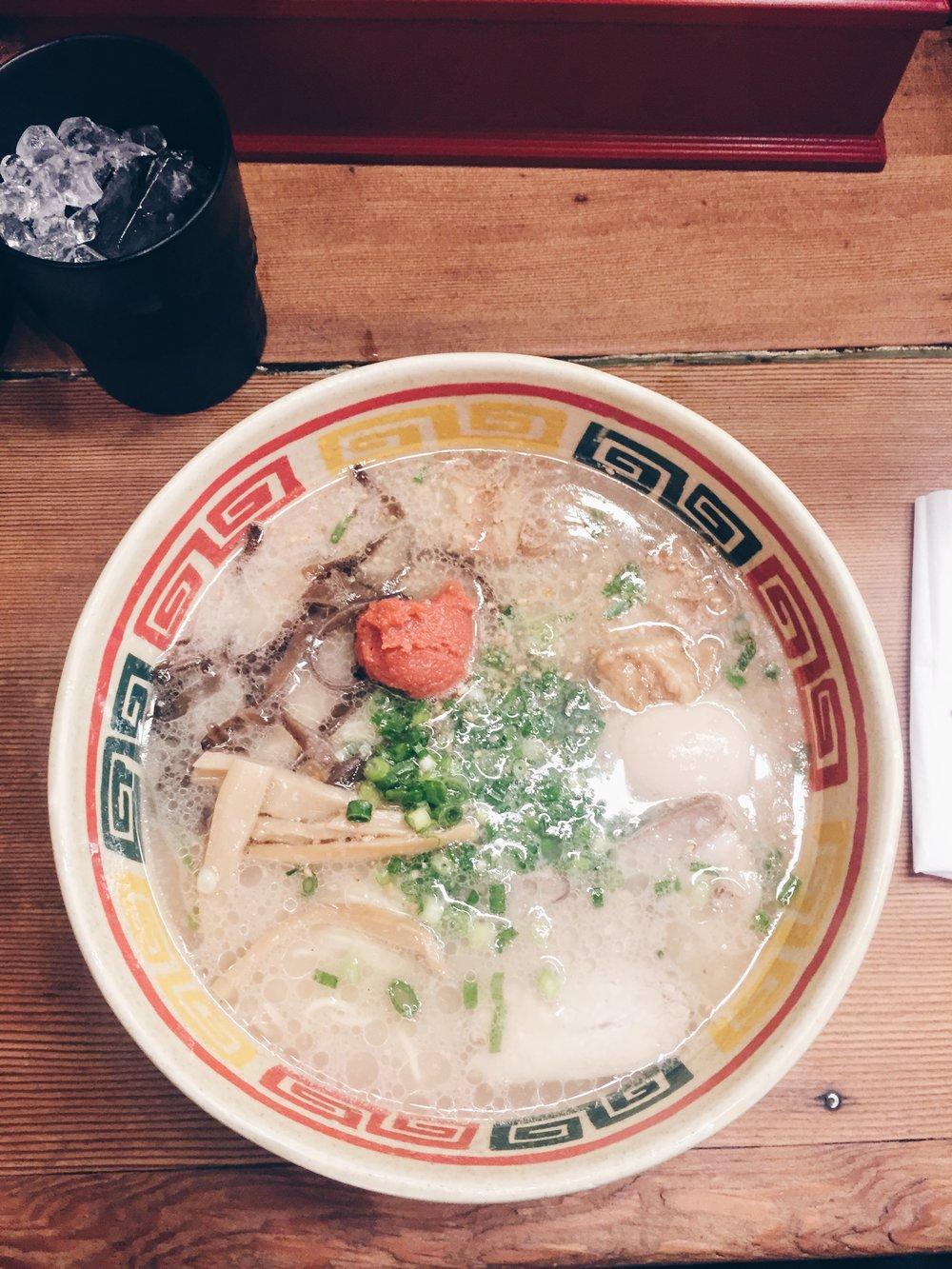 Ramen - Fashion & Lifestyle Spots in Tokyo, Japan - DROP