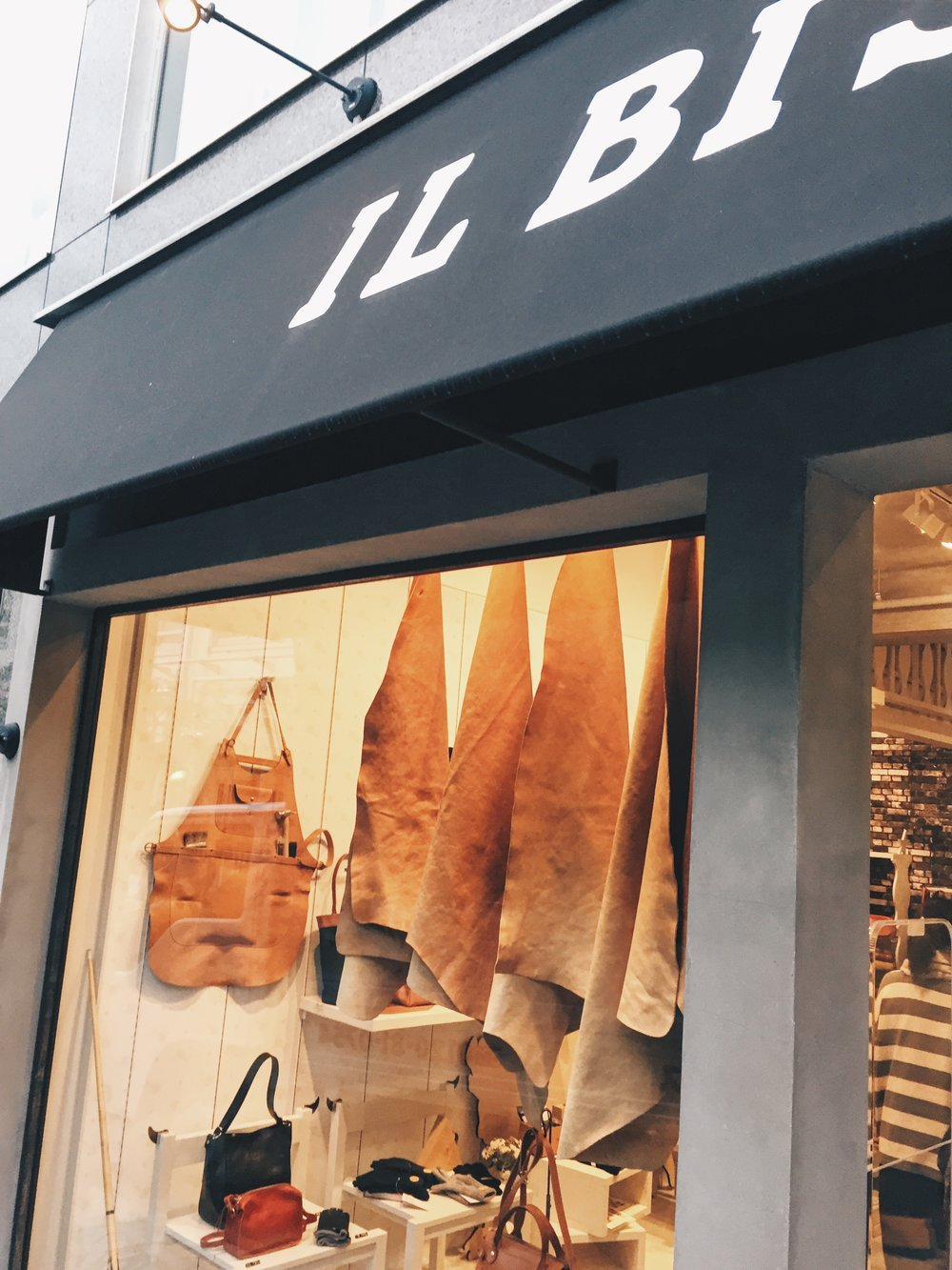 A leather goods store - Fashion & Lifestyle Spots in Tokyo, Japan - DROP