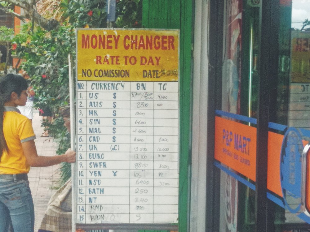 Blog - Money Exchange - Bali - DROP
