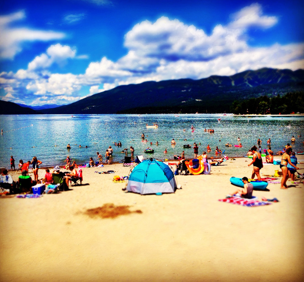 Whitefish City Beach