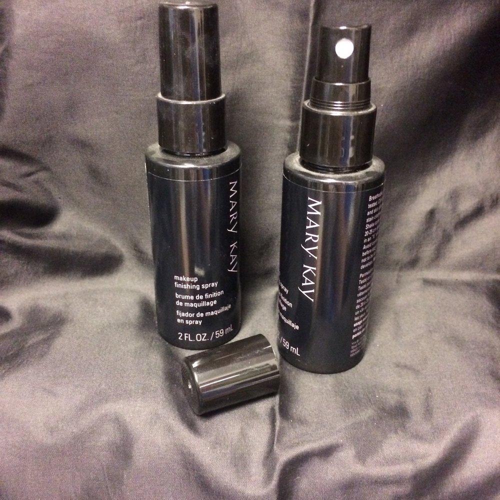 Makeup Finishing Spray  $15.00