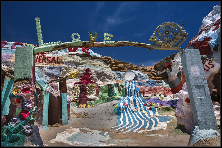 Salvation Mountain, Slab City, CA