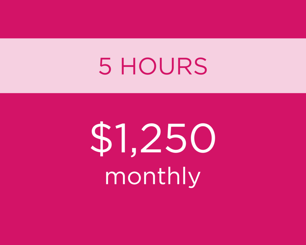 - Additional hours as needed at $250 per hour.