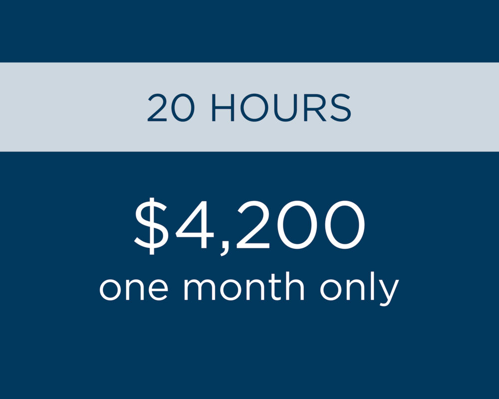 - Additional hours as needed at $210 per hour.