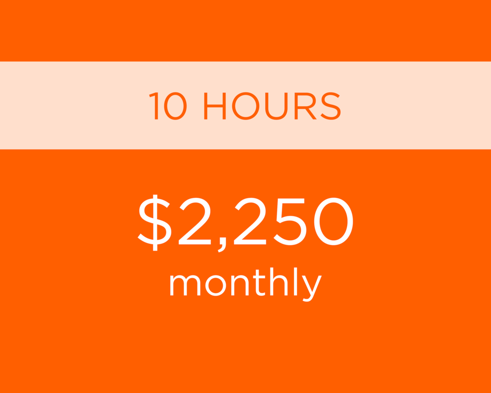 - Additional hours as needed at $225 per hour.