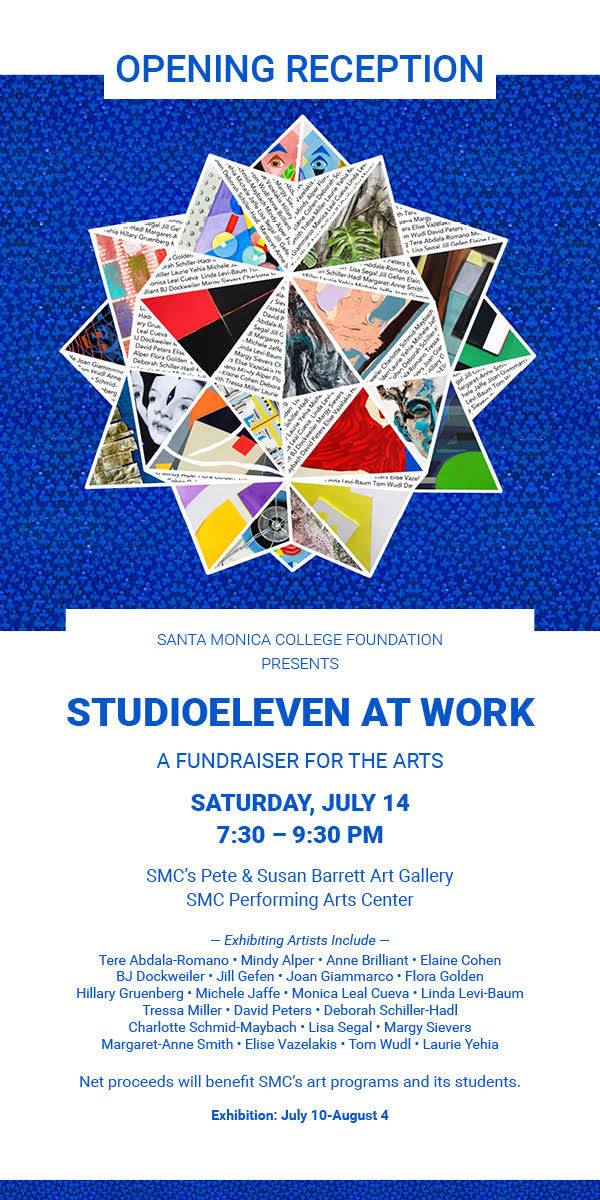 If you would like to attend a special art auction and fundraiser for SMC's Art Department please  RSVP here  for more information and your complimentary ticket.     Online Catalogue