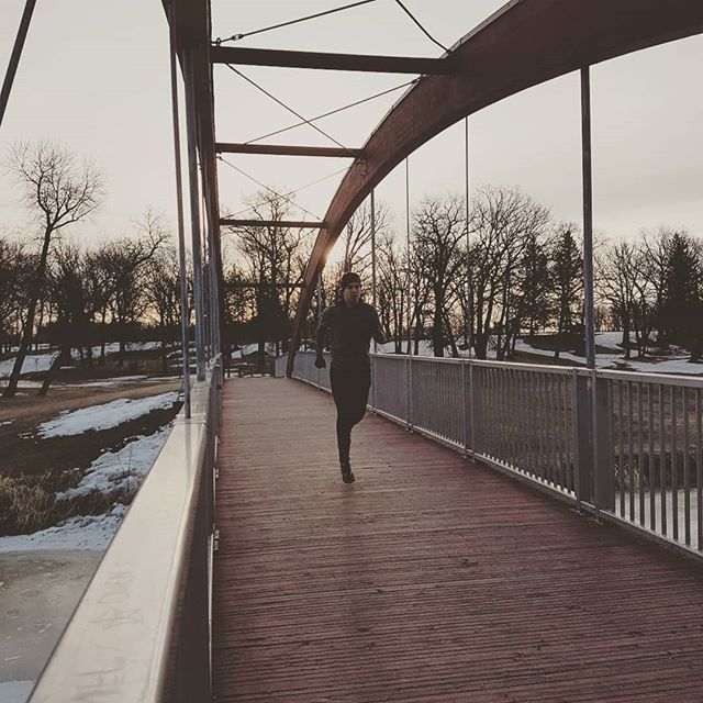 How great is today. - - - - - - - - #winnipeg #manitoba #canada #run #running #runner #triathlon #swimbikerun #spring #morning #happy #sundayfunday #sundayrun