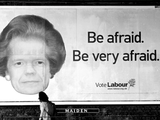THE LANGUAGE OF PROPAGANDA A look at the 10 best UK election posters