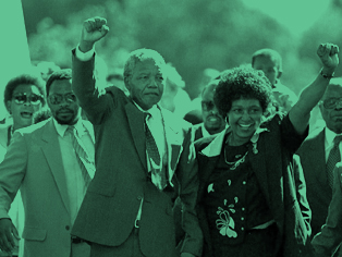 A HEAVYWEIGHT WITH A LIGHT TOUCH  Mandela's greatest legacy may be his profound commitment to democracy.