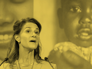 EMPOWERMENT IN CONTRACEPTION  Melinda Gates, wife of Microsoft founder Bill, is on a mission to use her husband's $89 billion to get birth control to millions of women.
