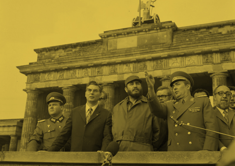 Castro in Berlin. (Photo:  German Federal Archive )