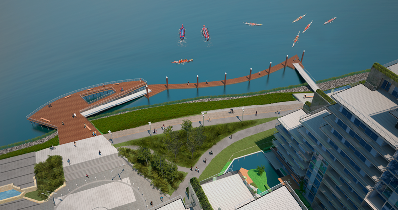 Middle Arm Waterfront Park - under development