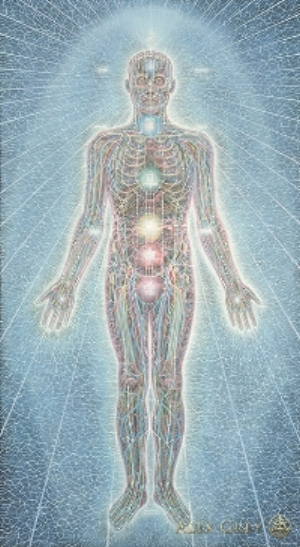 Psychic Energy System by Alex Gray