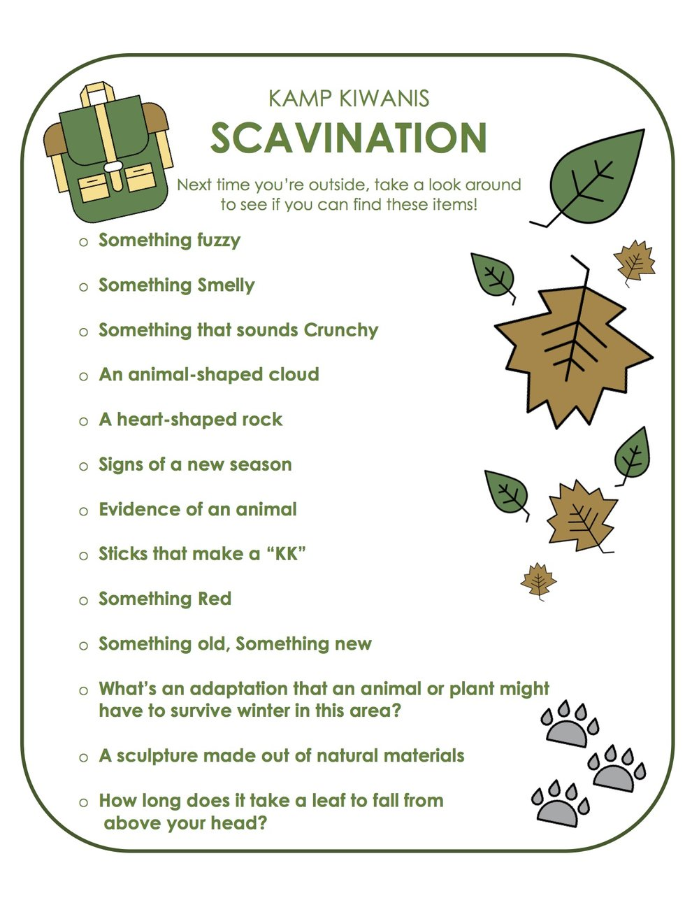 Scavination List