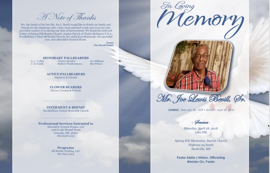 Obituaries affordable funeral services izmirmasajfo