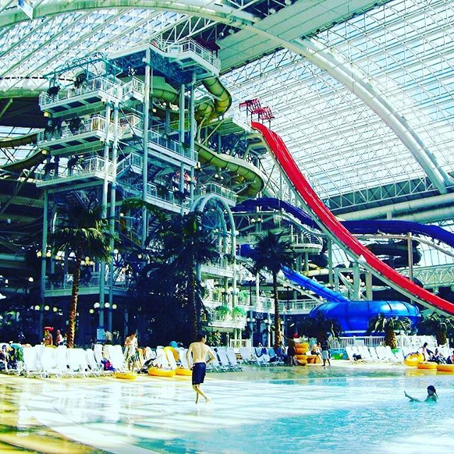 Number 9: World Water Park  Why not go for a dip and a slide at the West Edmonton Mall World Water Park? It's a little pricey but so is the food there. #wem #list #top10 #LNE #entertainment #yeg