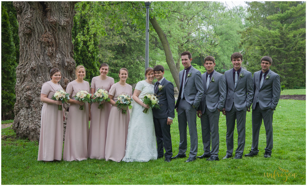Bridal Party in Stratford