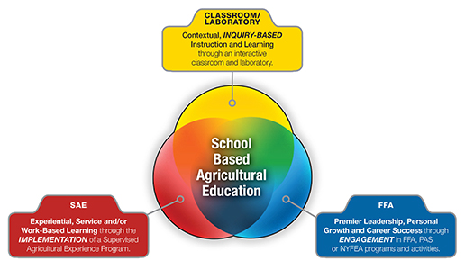 3 Component Model of Agricultural Education