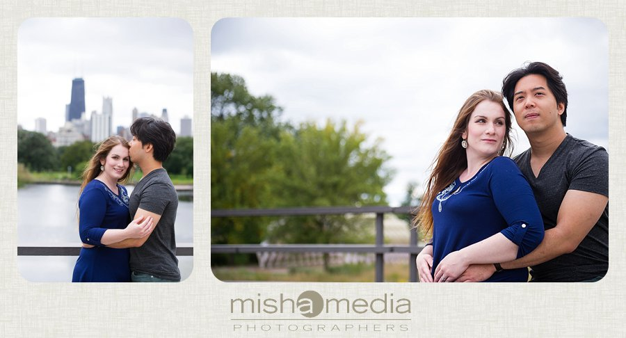 Engagement Session at Lincoln Park Nature Walk_0005