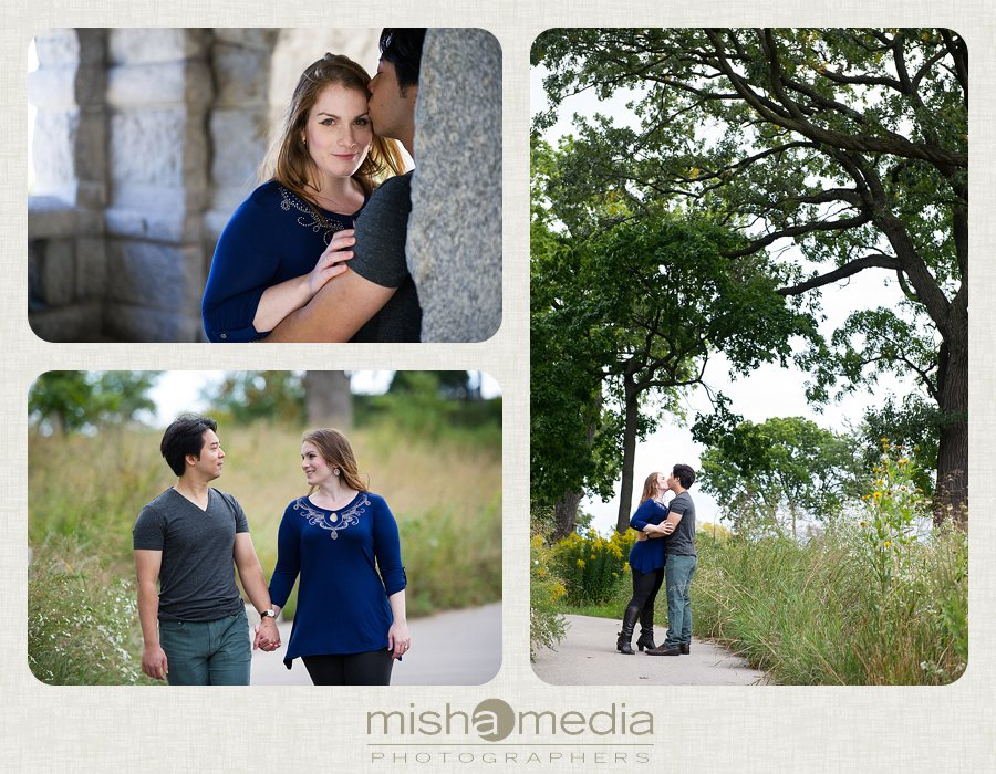 Engagement Session at Lincoln Park Nature Walk_0006