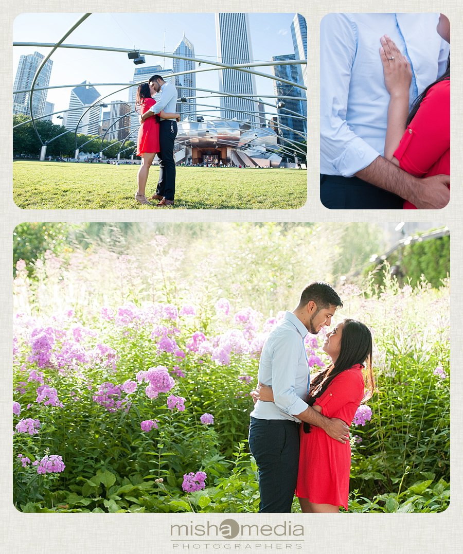 Millennium Park Engagement Session-km_0004