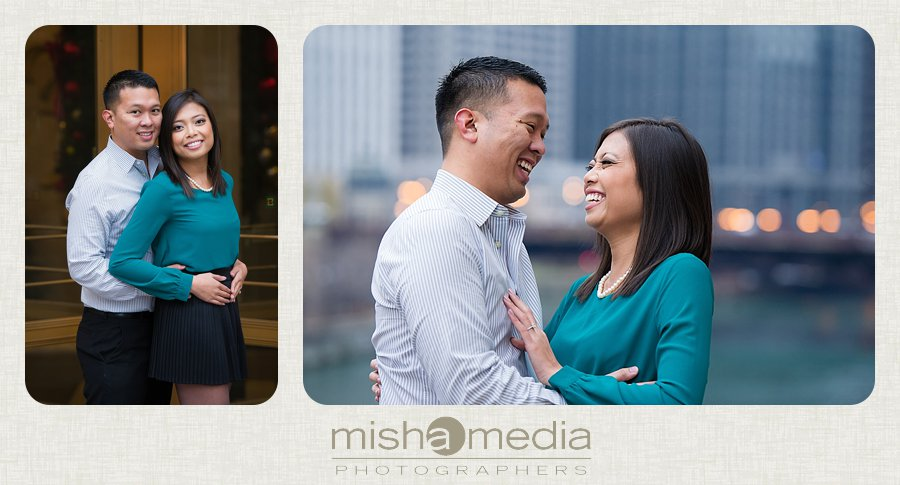 Engagement Session at Chicago Riverwalk_0004