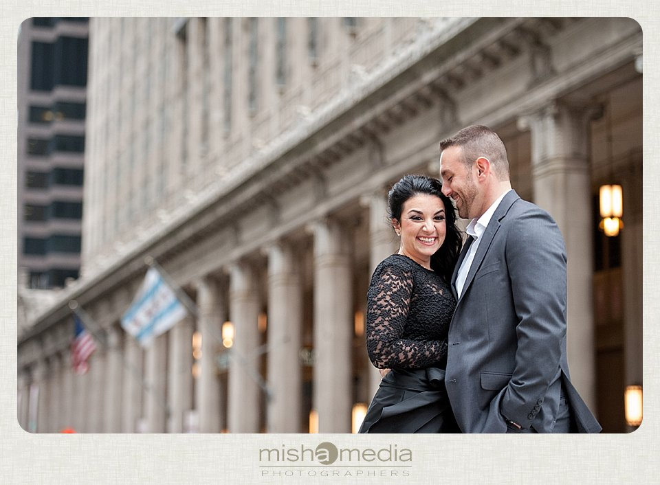Engagement Session at the Civic Opera House_0001