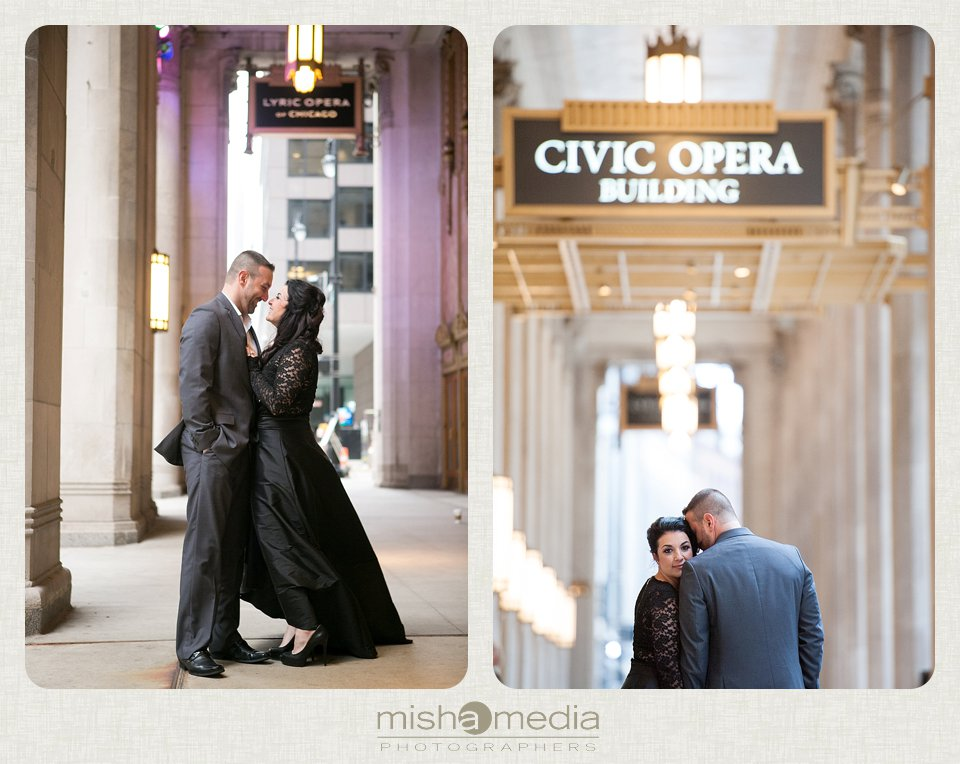Engagement Session at the Lyric Opera House_0005
