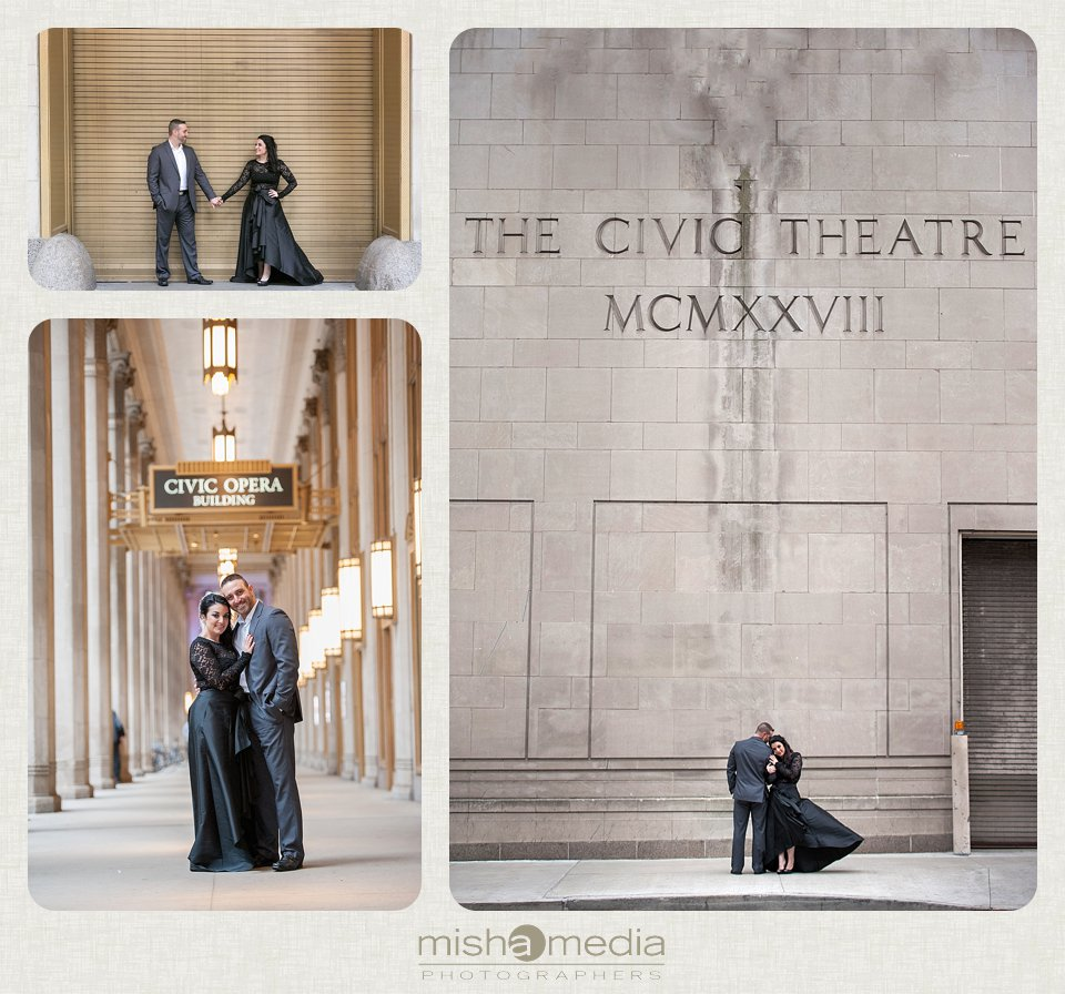 Engagement Session at the Lyric Opera House_0007