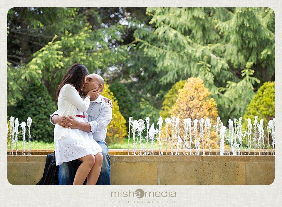 Engagement Session at Chicago Botanic Gardens_0007
