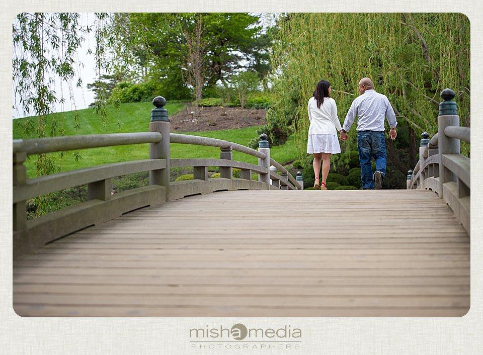 Engagement Session at Chicago Botanic Gardens_0014