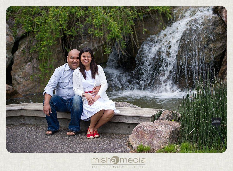 Engagement Session at Chicago Botanic Gardens_0015