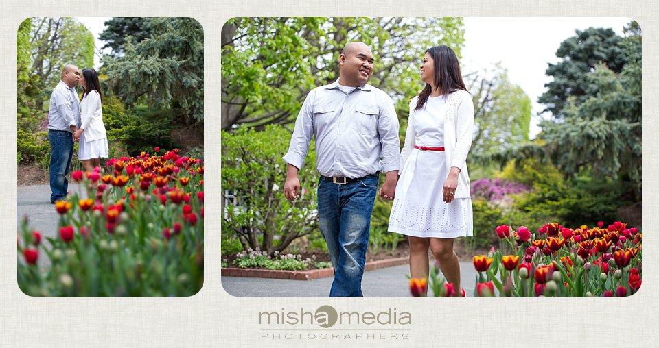 Engagement Session at Chicago Botanic Gardens_0016