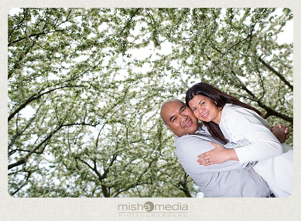 Engagement Session at Chicago Botanic Gardens_0018