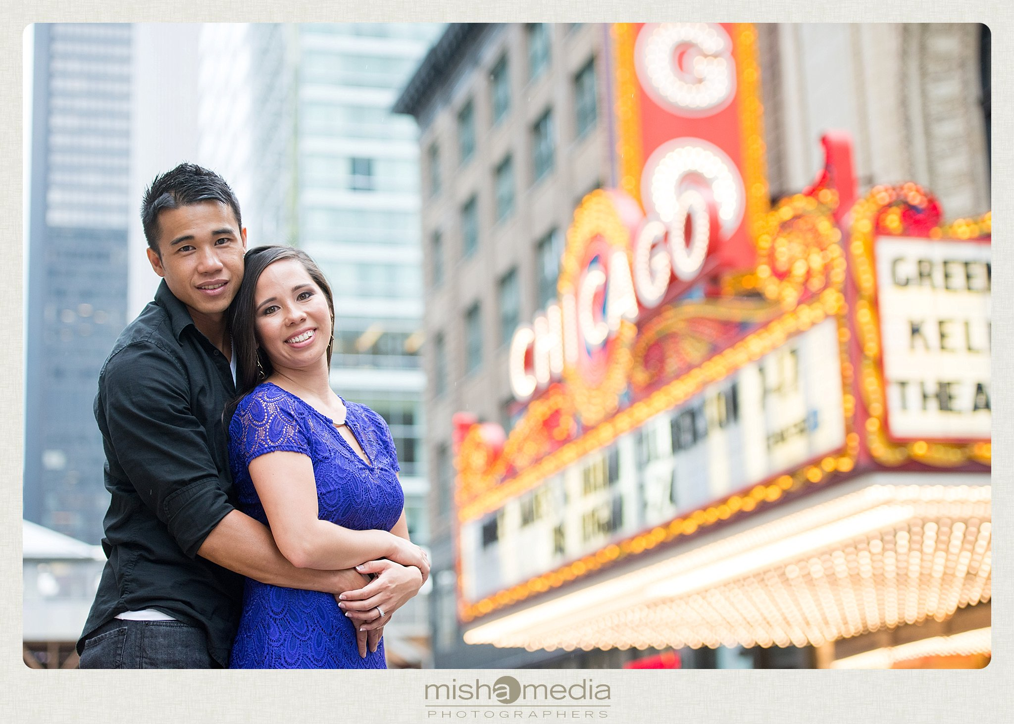 Downtow Chicago Engagement Session_0002