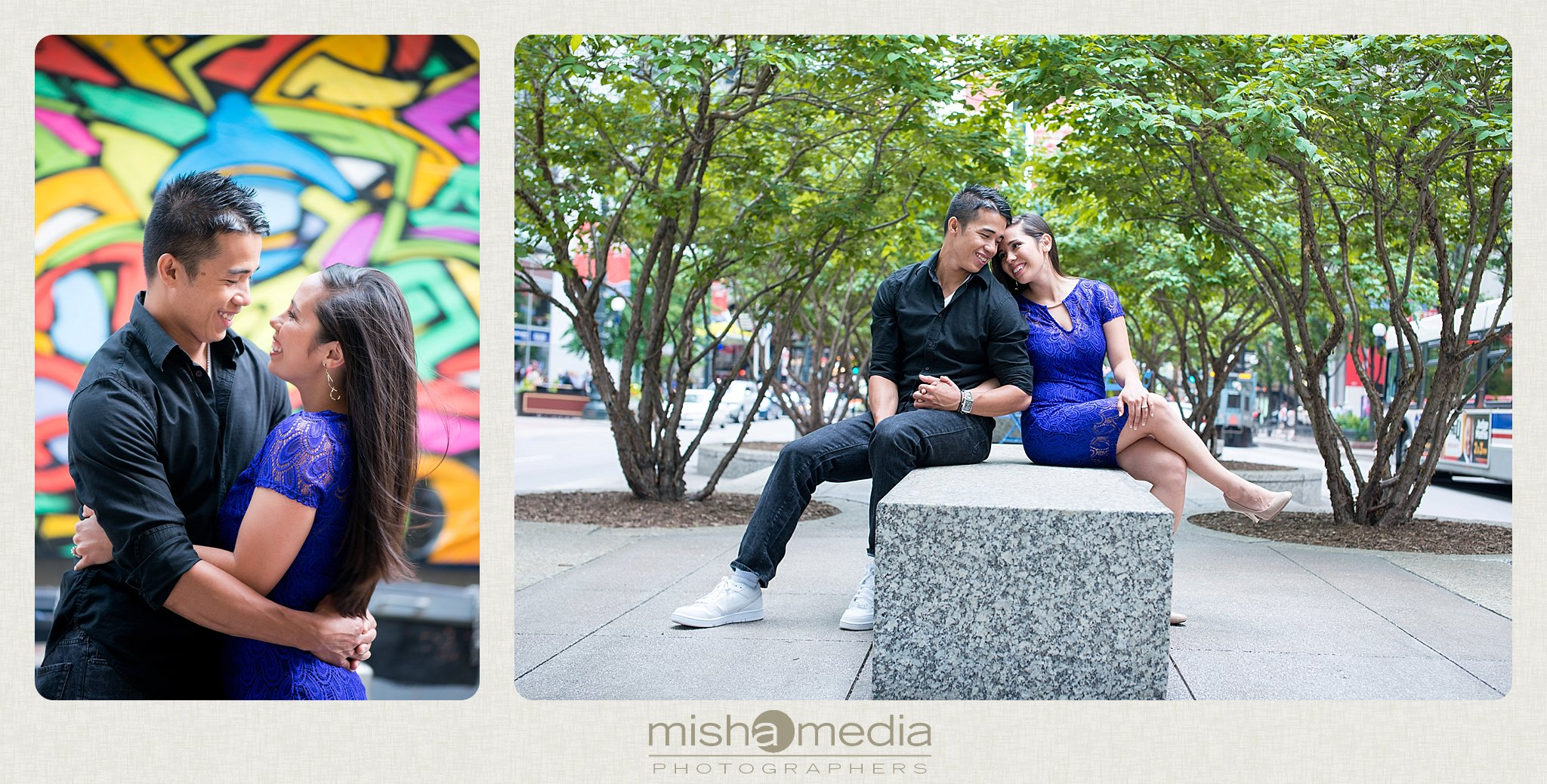 Downtow Chicago Engagement Session_0007