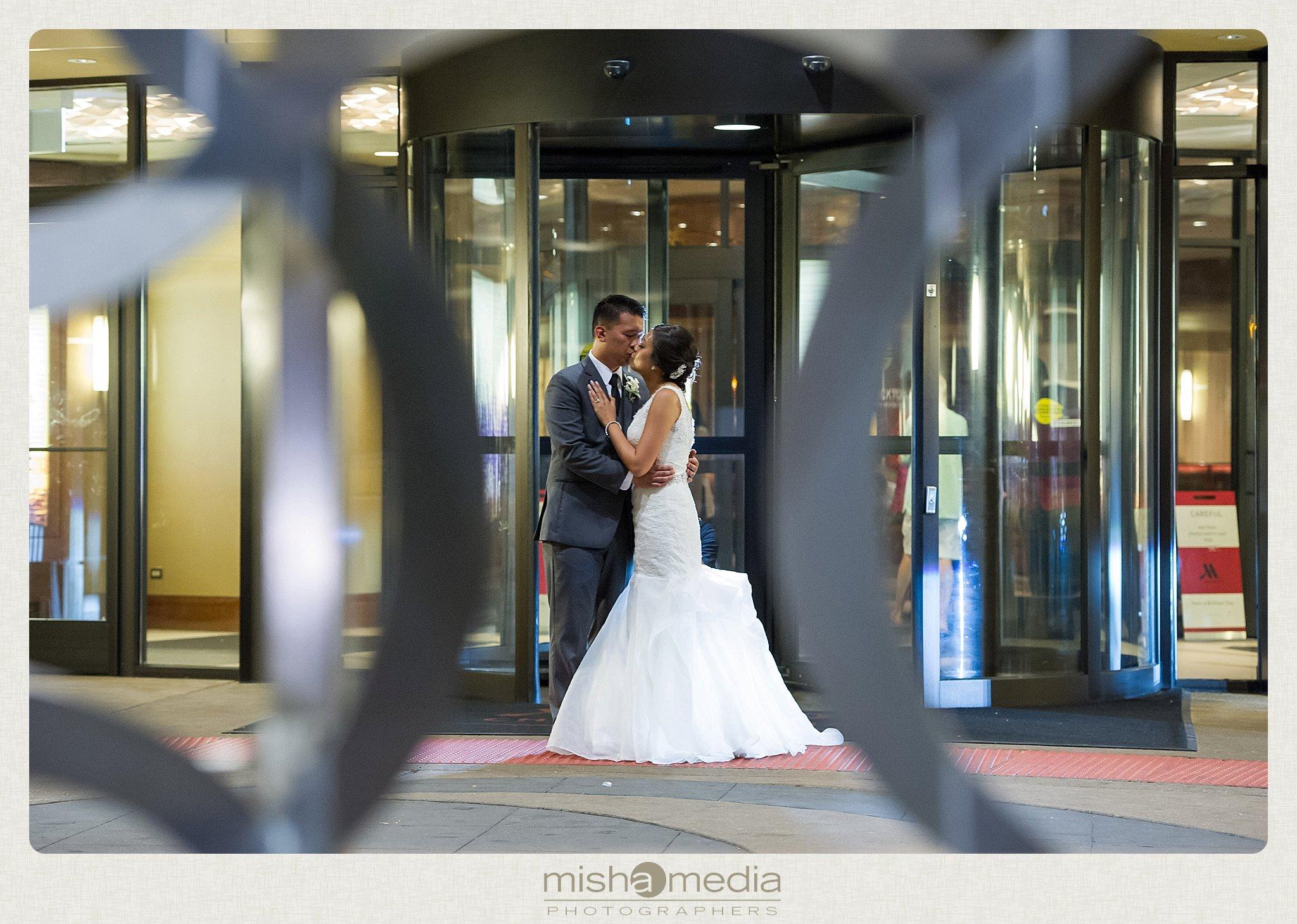 Chicago Marriott O'hare Weddings_0036