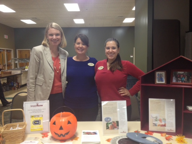 Exhibiting at this year's Regional Caregiver Education Conference in Arden, NC                                                  Amy Fowler (WNC Geriatric Care Manager), Cameron Kempson (SimplyHome Client Care Specialist), Gabrielle Corey (SimplyHome Customer Service Representative)