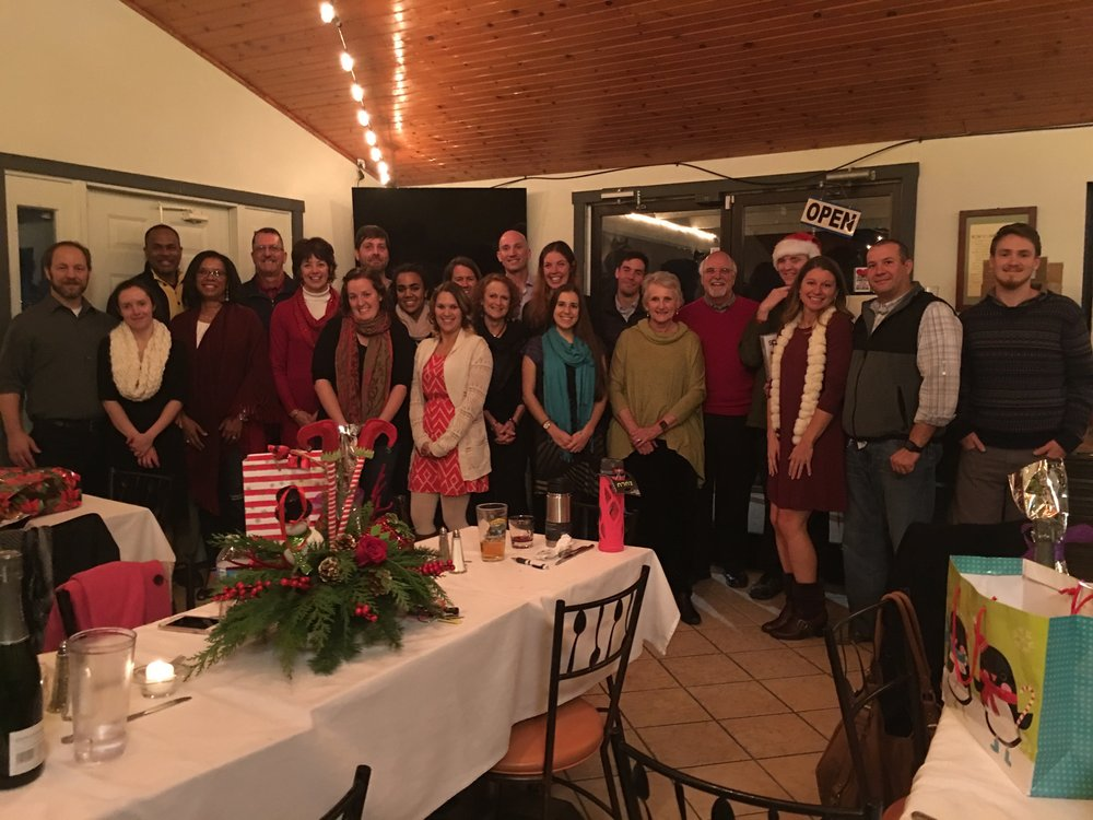 The SimplyHome family gathers for our annual holiday party
