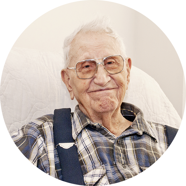 Picture of Gerald, an elderly man