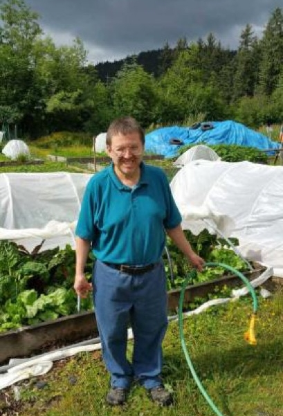 Jim is the most recent REACH client to acquire a  Simply Home system. He owns his own condo and made the  local paper  for his success of being a homeowner. He also assists with the REACH Community Garden.