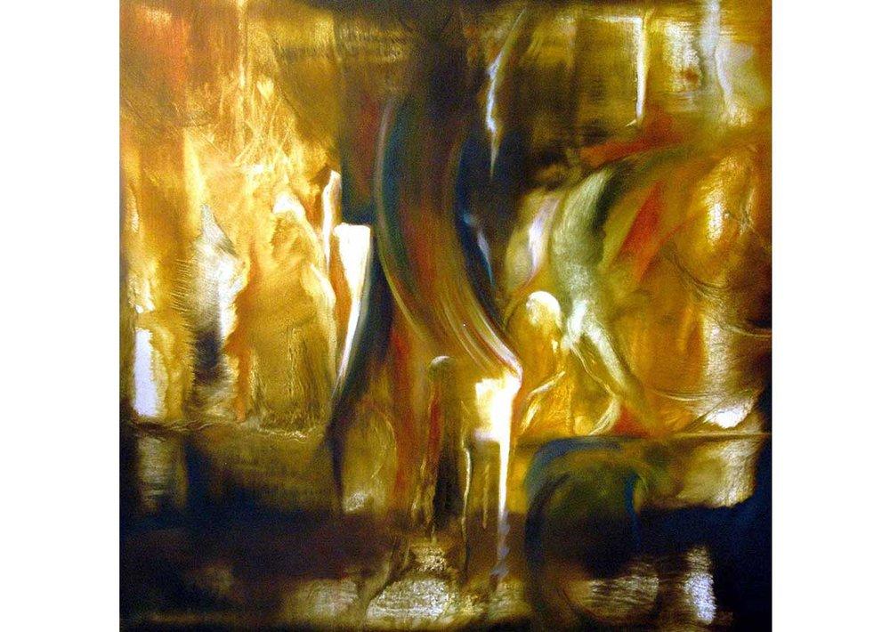 Palpitar. Óleo sobre tela | 2004 | 68 x 67 cm.