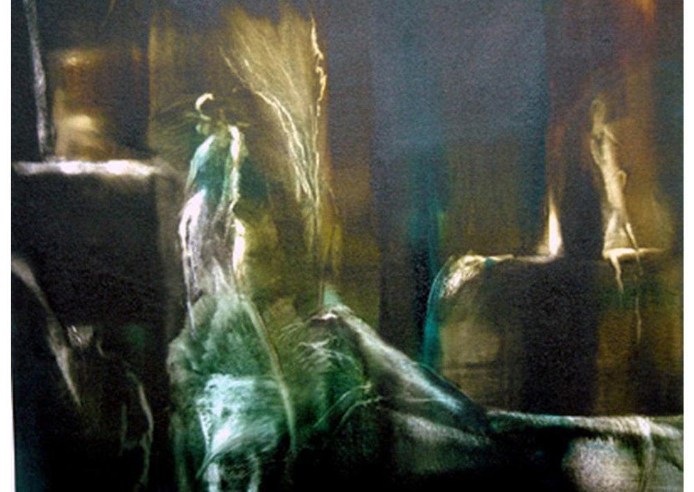 Apacible sueño. Óleo sobre tela | 2004 | 62 x 58 cm.