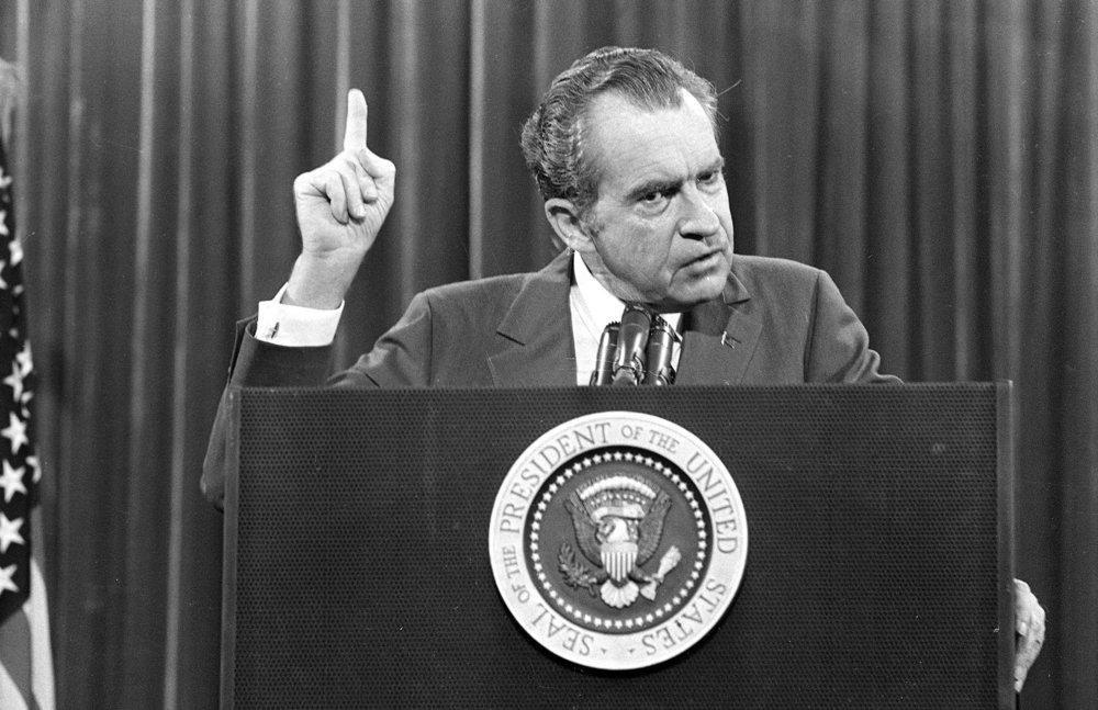 """""""I am not a crook"""" - Richard Nixon - Facebook"""