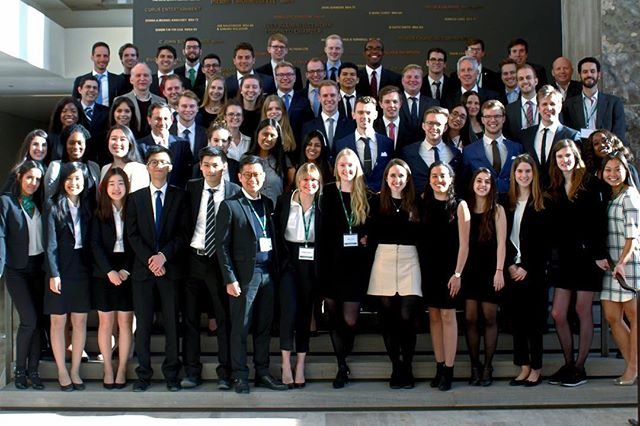 Thank you to all the teams for making the trip all the way to Canada to be a part of this year's Scotiabank International Case Competition! #sicc2018