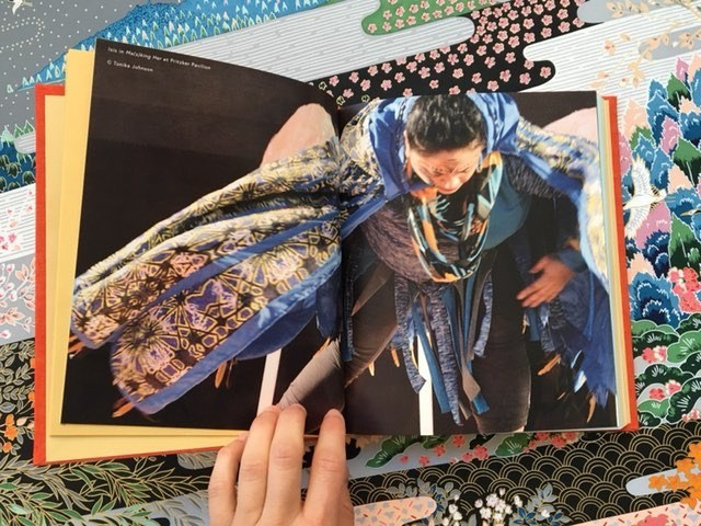 """Image of inside pages from book """"Ma(s)king Her: Black Feminist Futures"""" by Honey Pot Performance, published by Candor Arts, 2017. Image courtesy of Candor Arts."""