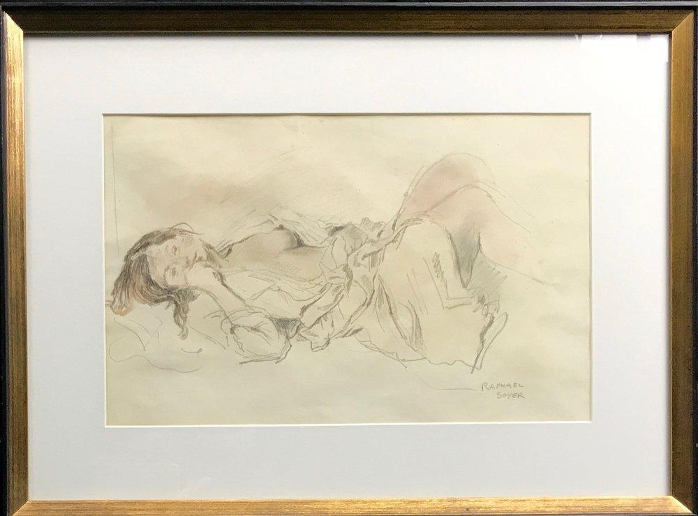 Raphael Soyer (1899 - 1987)