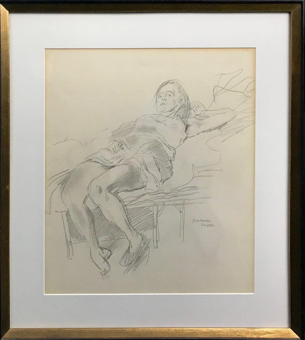 Raphael Soyer, (1899 - 1987)