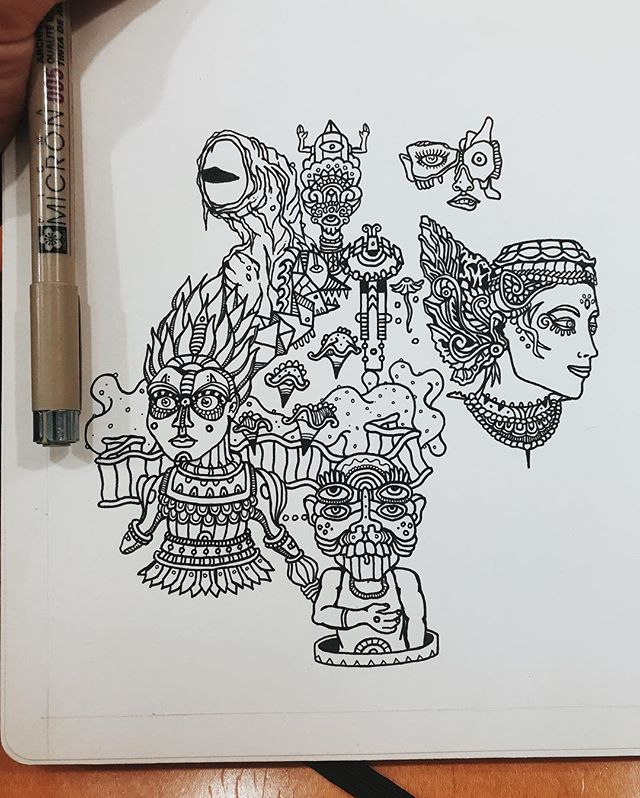 Getting my draw on